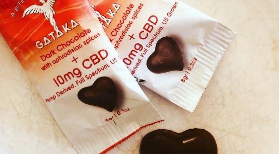 Gataka Dark Chocolate with aphrodisiac spices + 10mg CBD