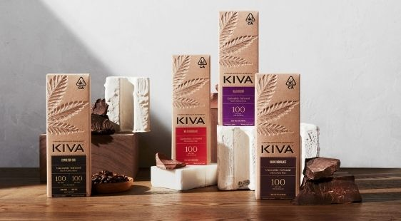Kiva Confections' Cannabis-Infused Chocolate Bars